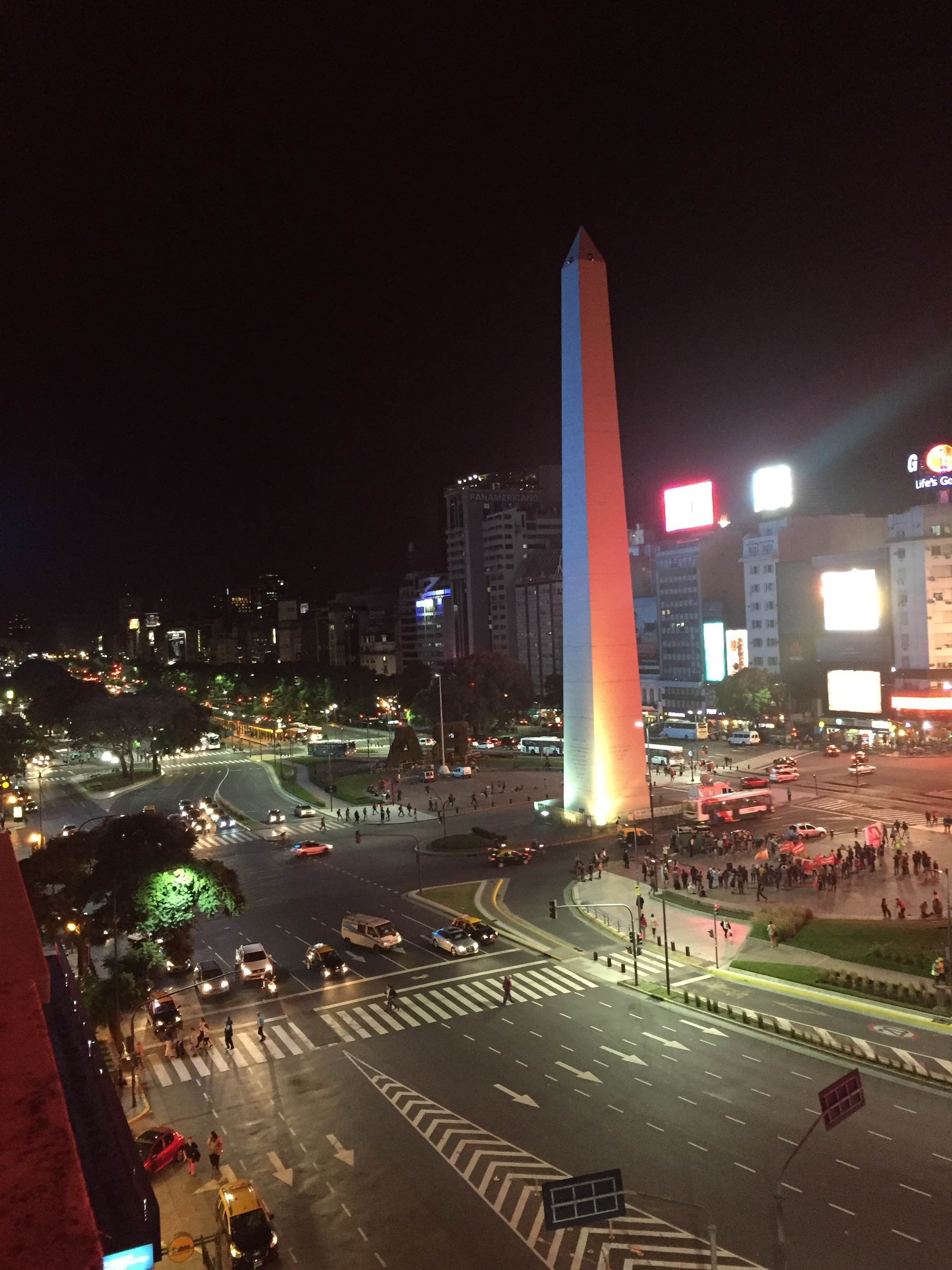 Skyline en Obelisco