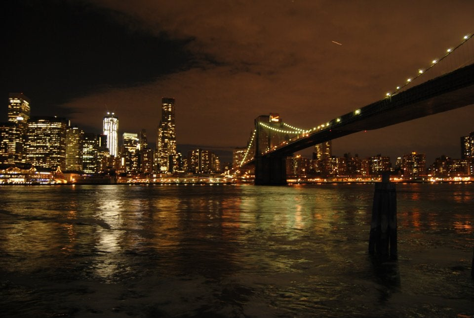 Mar en Puente de Brooklyn