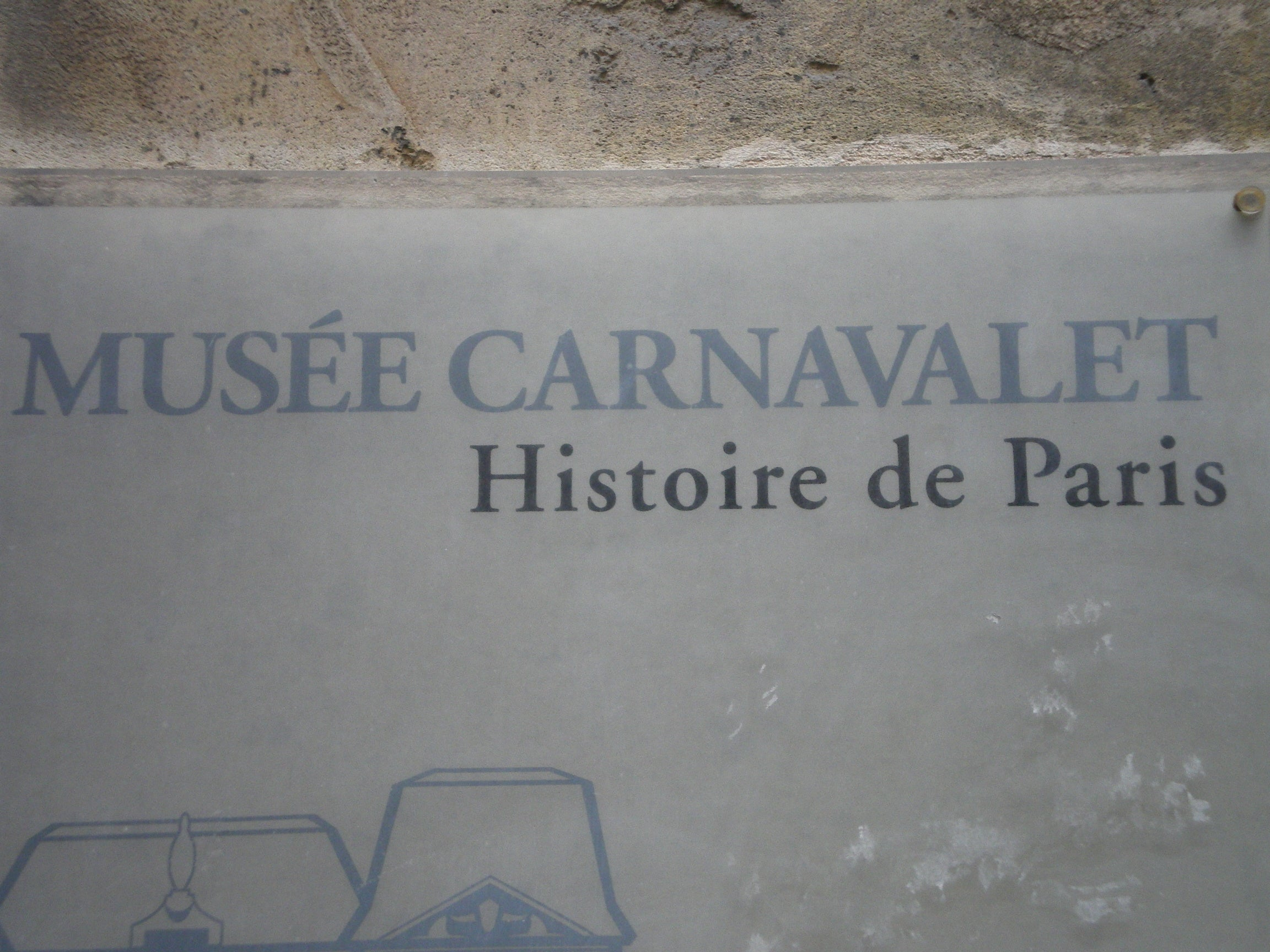 Pared en Museo Carnavalet