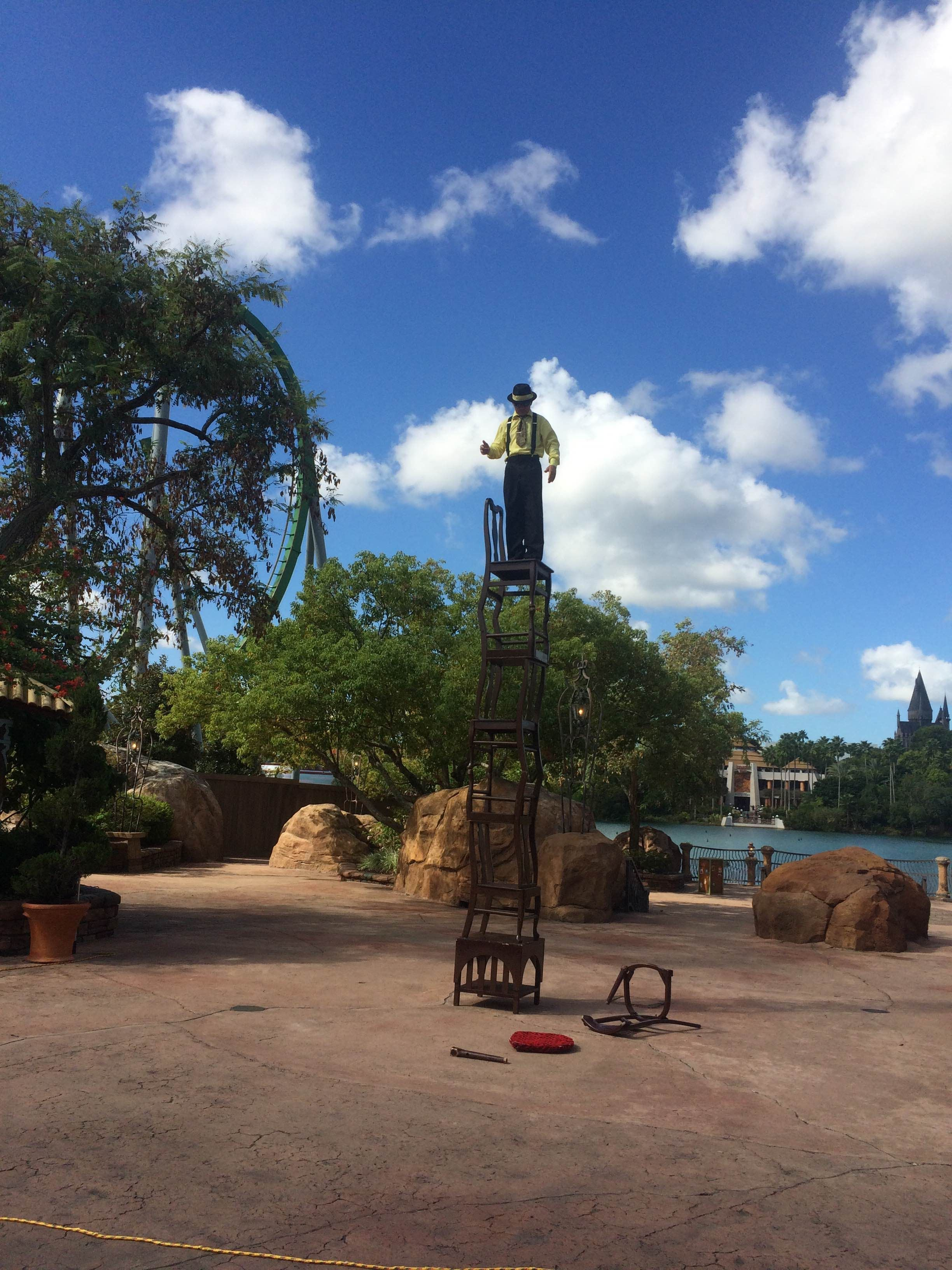 Árbol en Islands of Adventure
