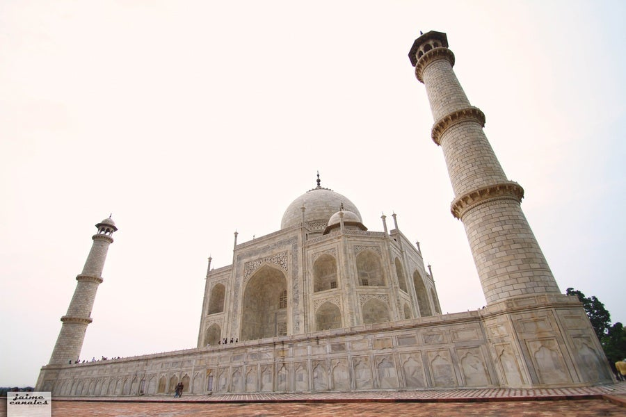 Mar en Taj Mahal