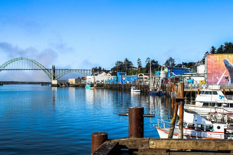 Newport Oregon Historic Bay Front