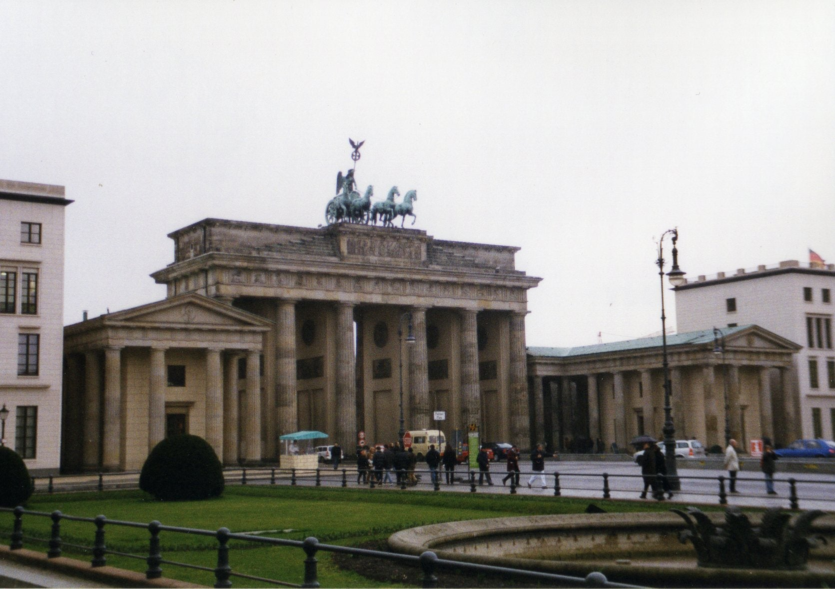 Train Station in Brandenburg Gate
