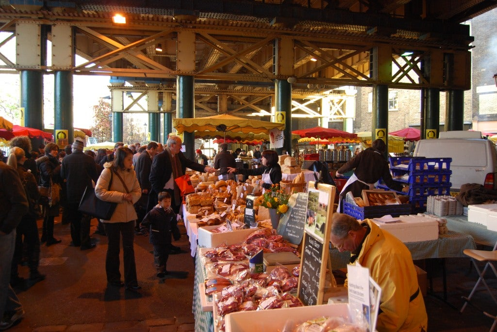 Bazar en Borough Market