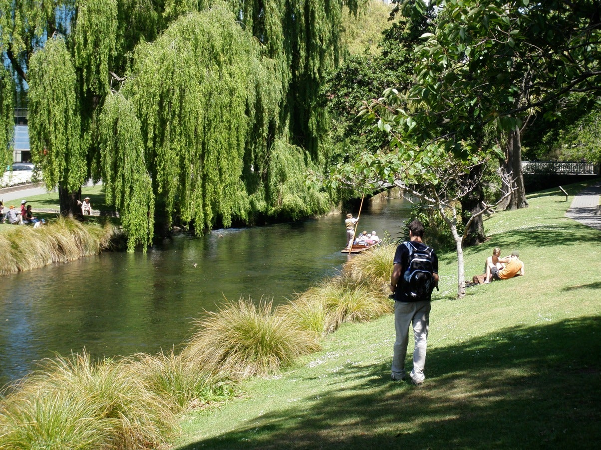 Río en Christchurch