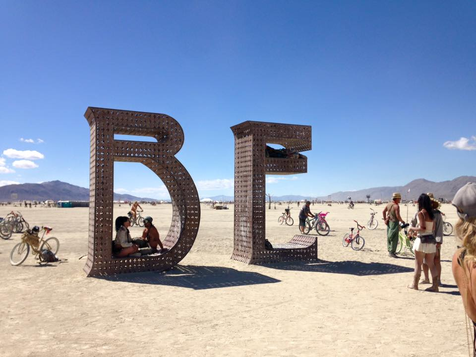 Playa en Burning Man