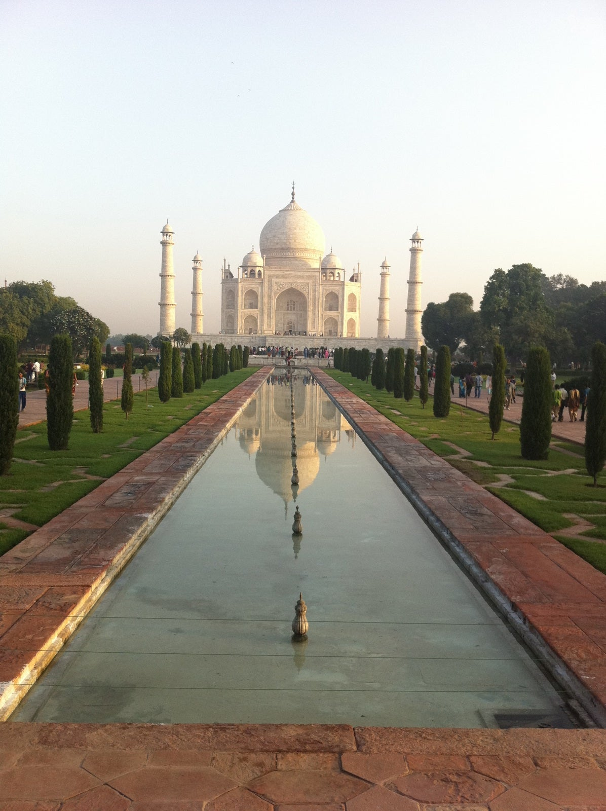 Paseo en Taj Mahal