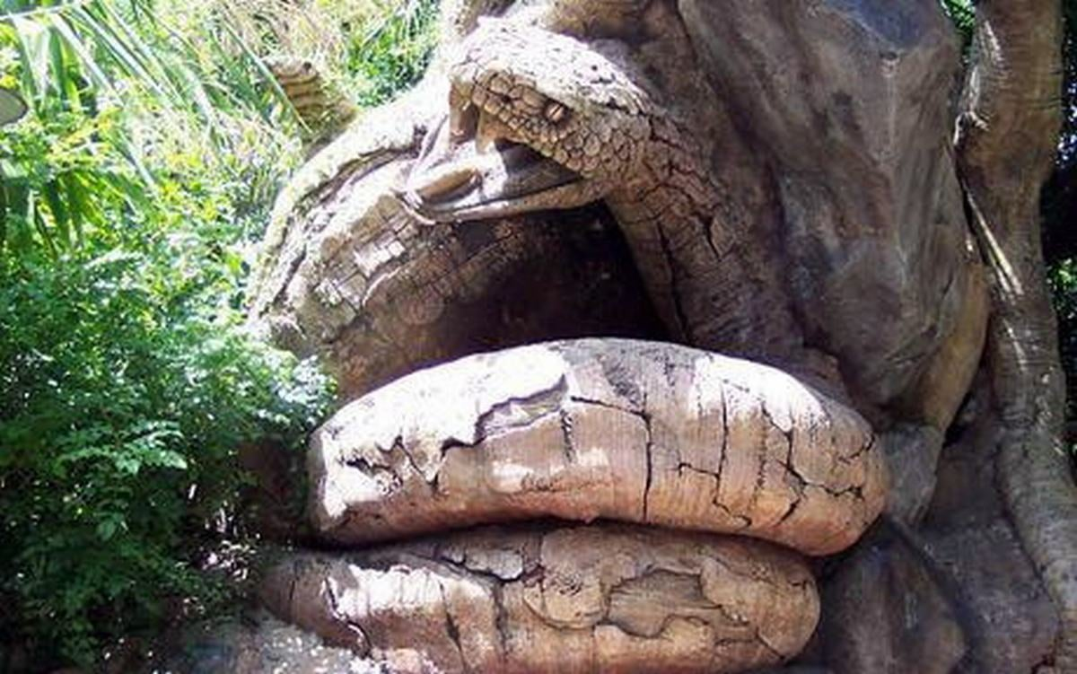 Escultura en Disney Animal Kingdom