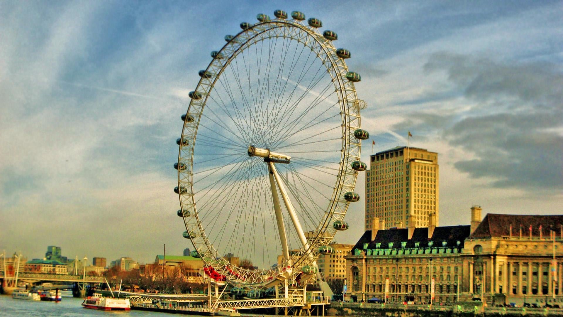 Edificio en London Eye