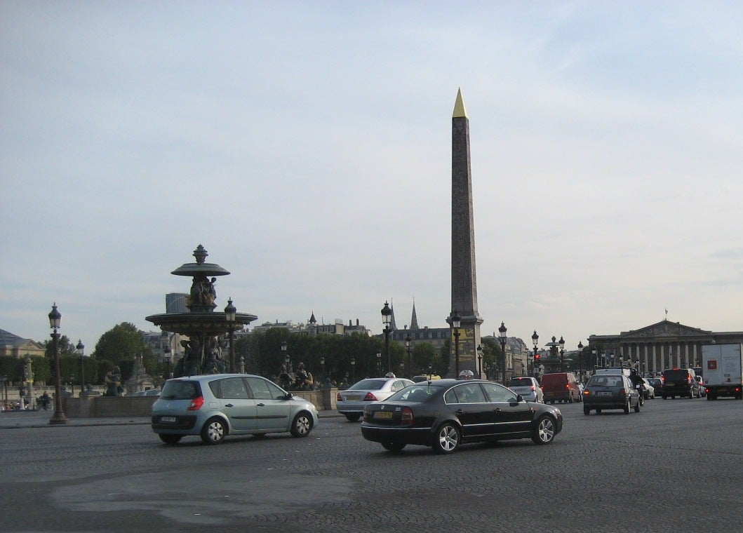 Memorial en Obelisco de Luxor