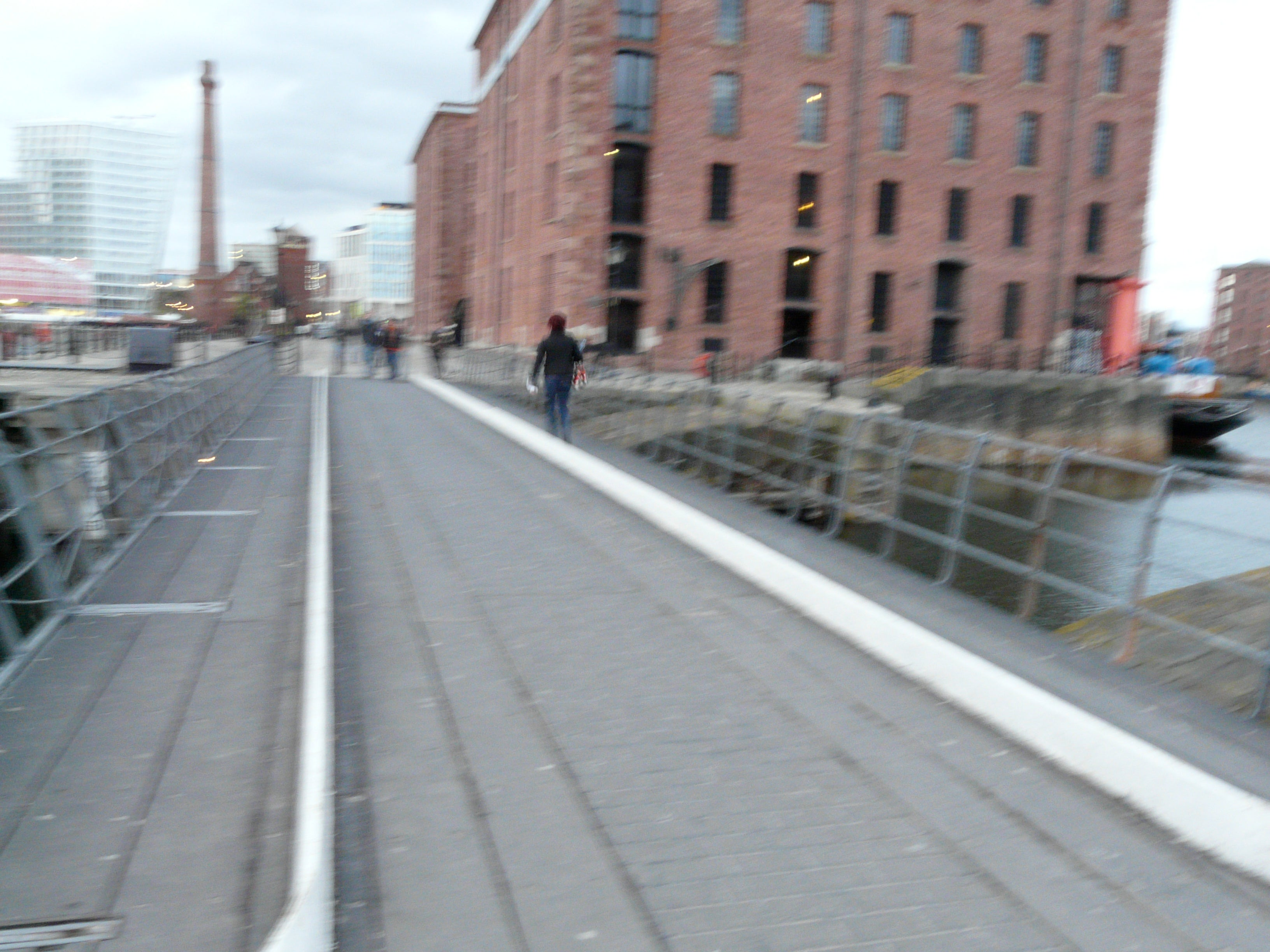 Carril en Royal Albert Dock