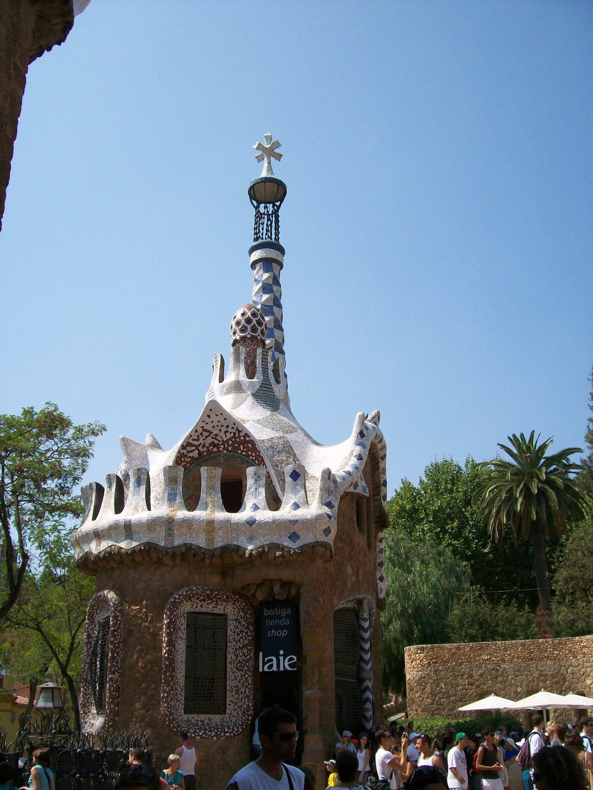 Architecture in Park Güell