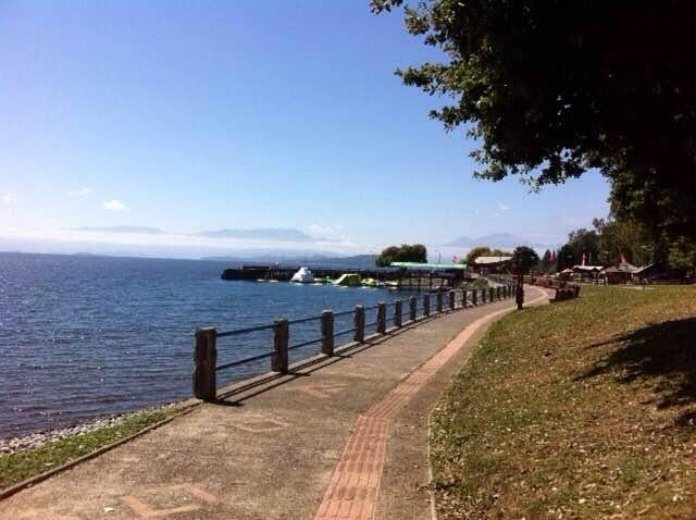 Playa en Lago Ranco