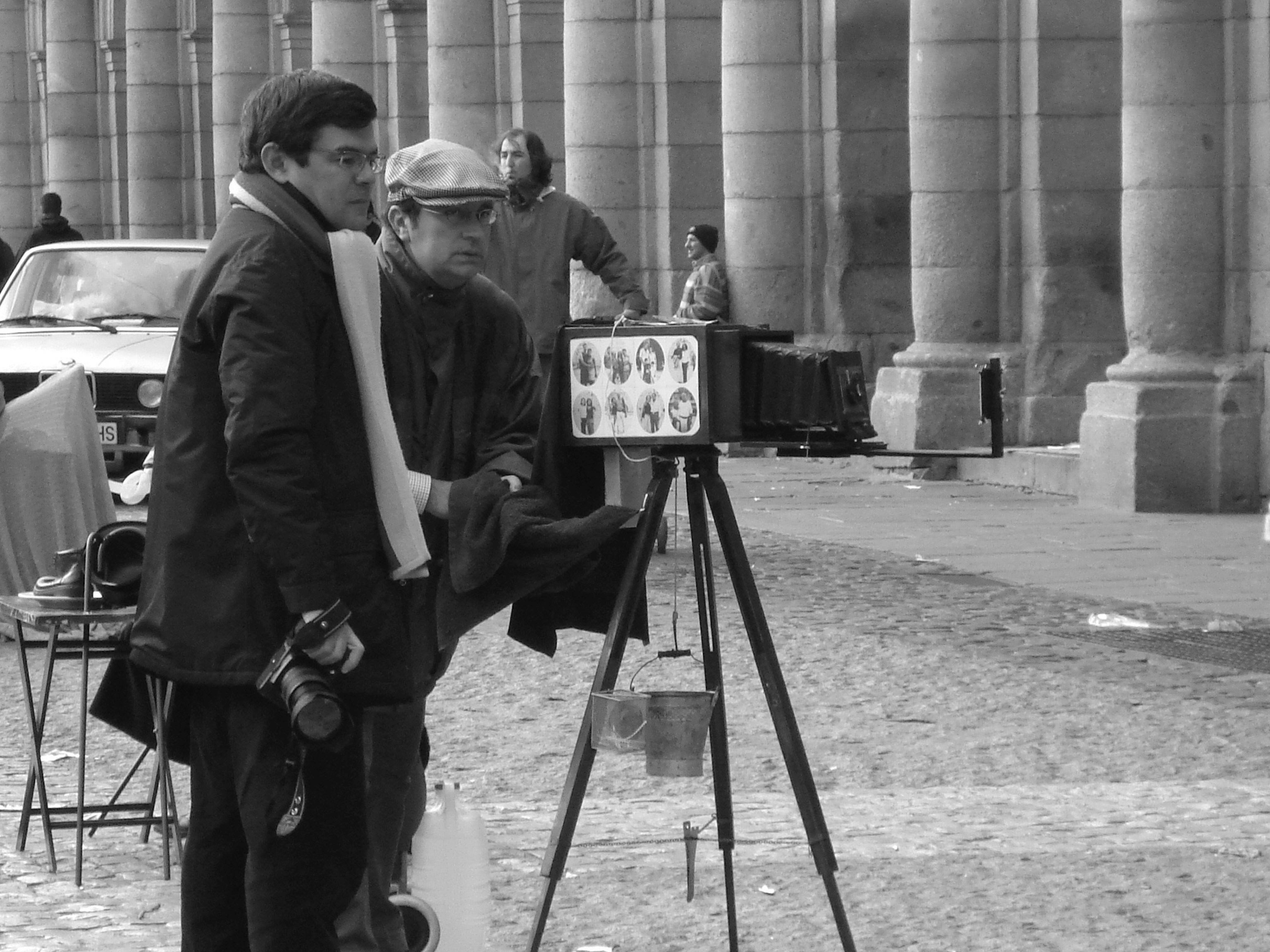Fotografía en Plaza Mayor