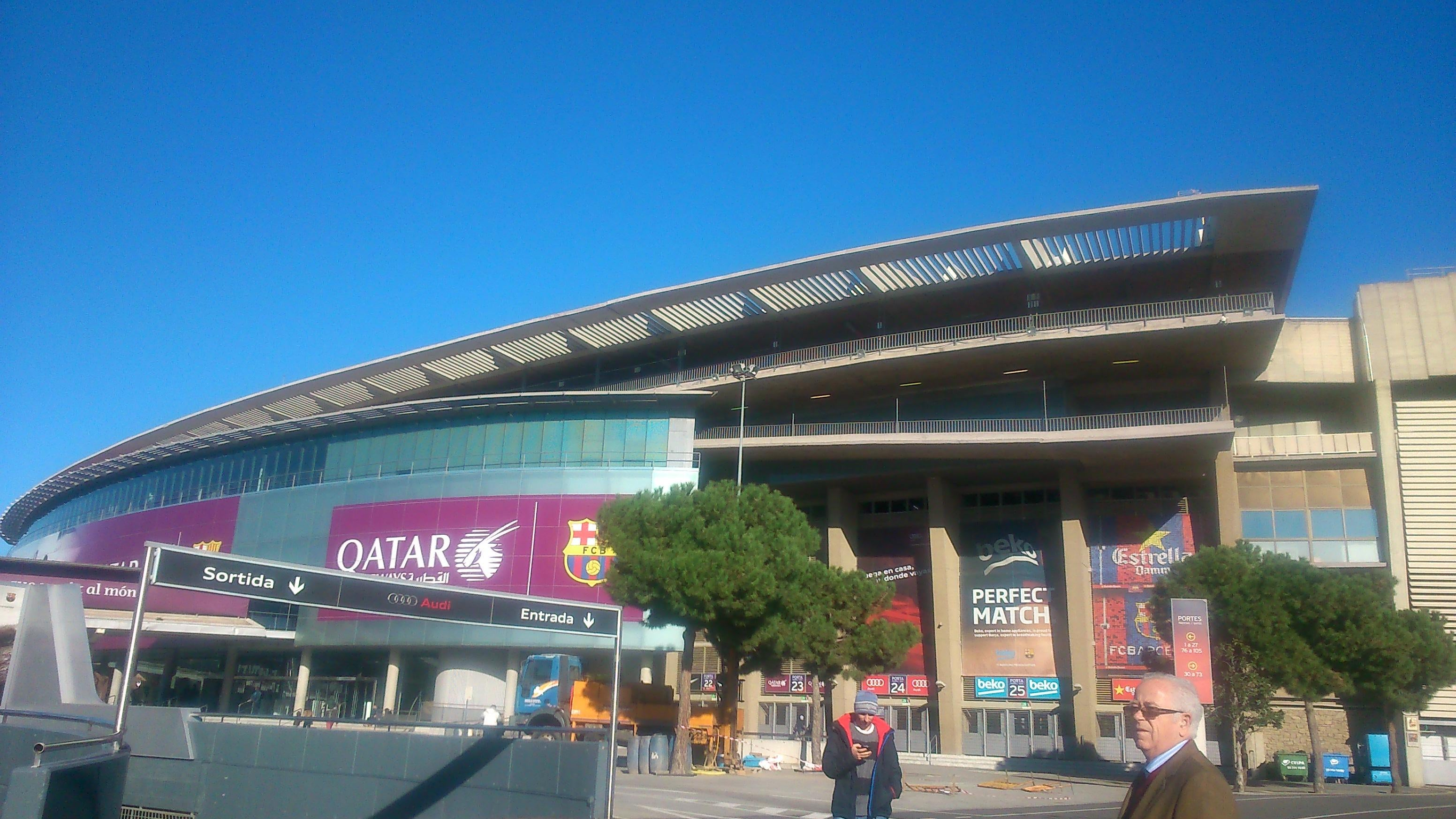 Transporte en Camp Nou