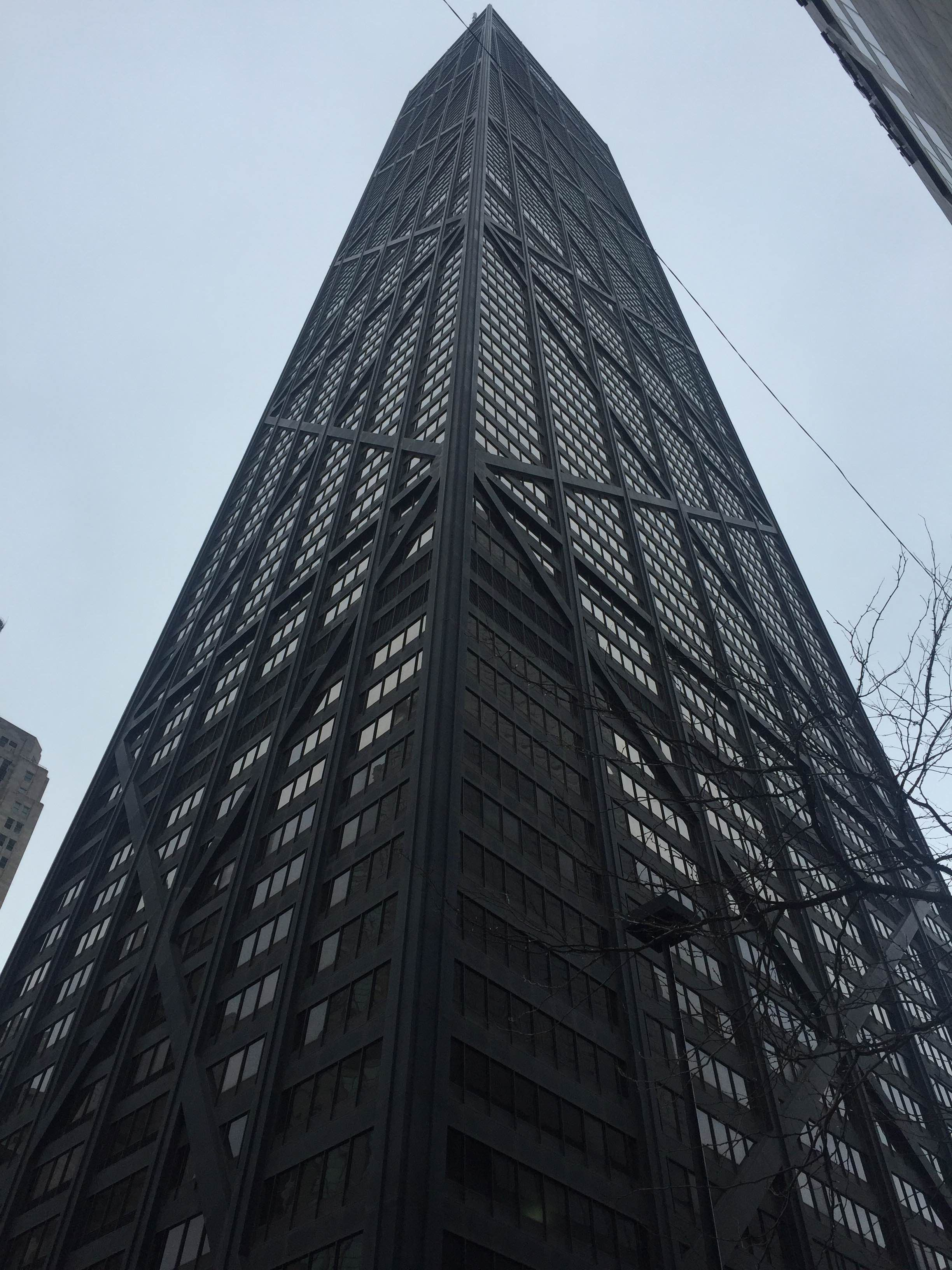 Vidrio en John Hancock Center