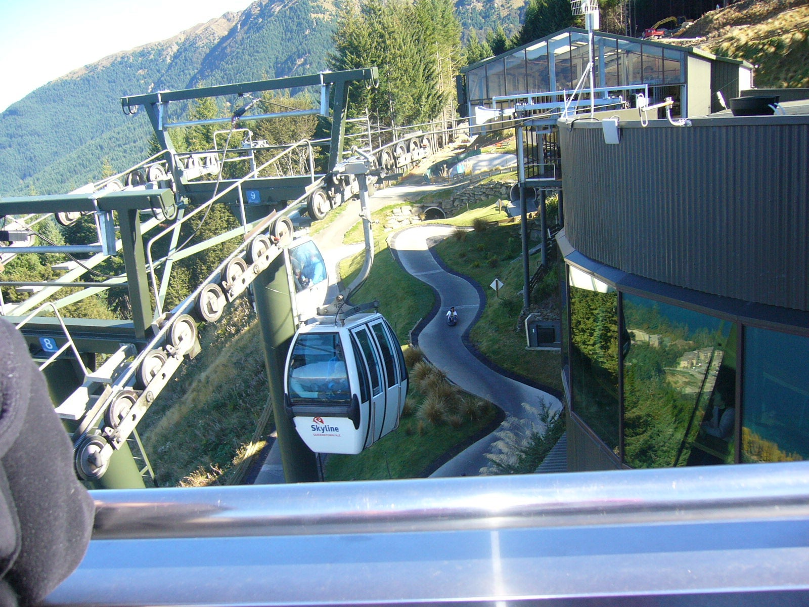 Piscina en Skyline Queenstown