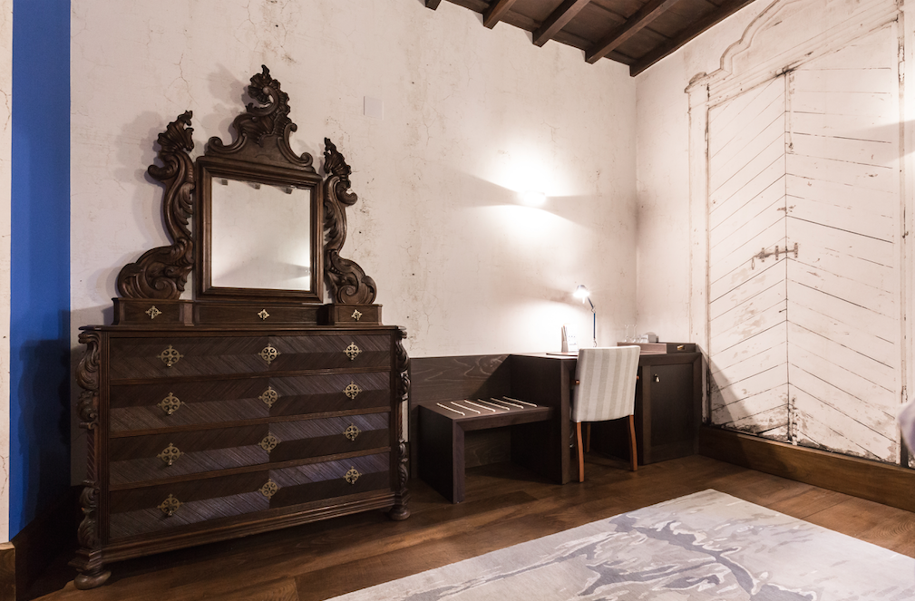 Bedroom in Pazo da Pena Manzaneda