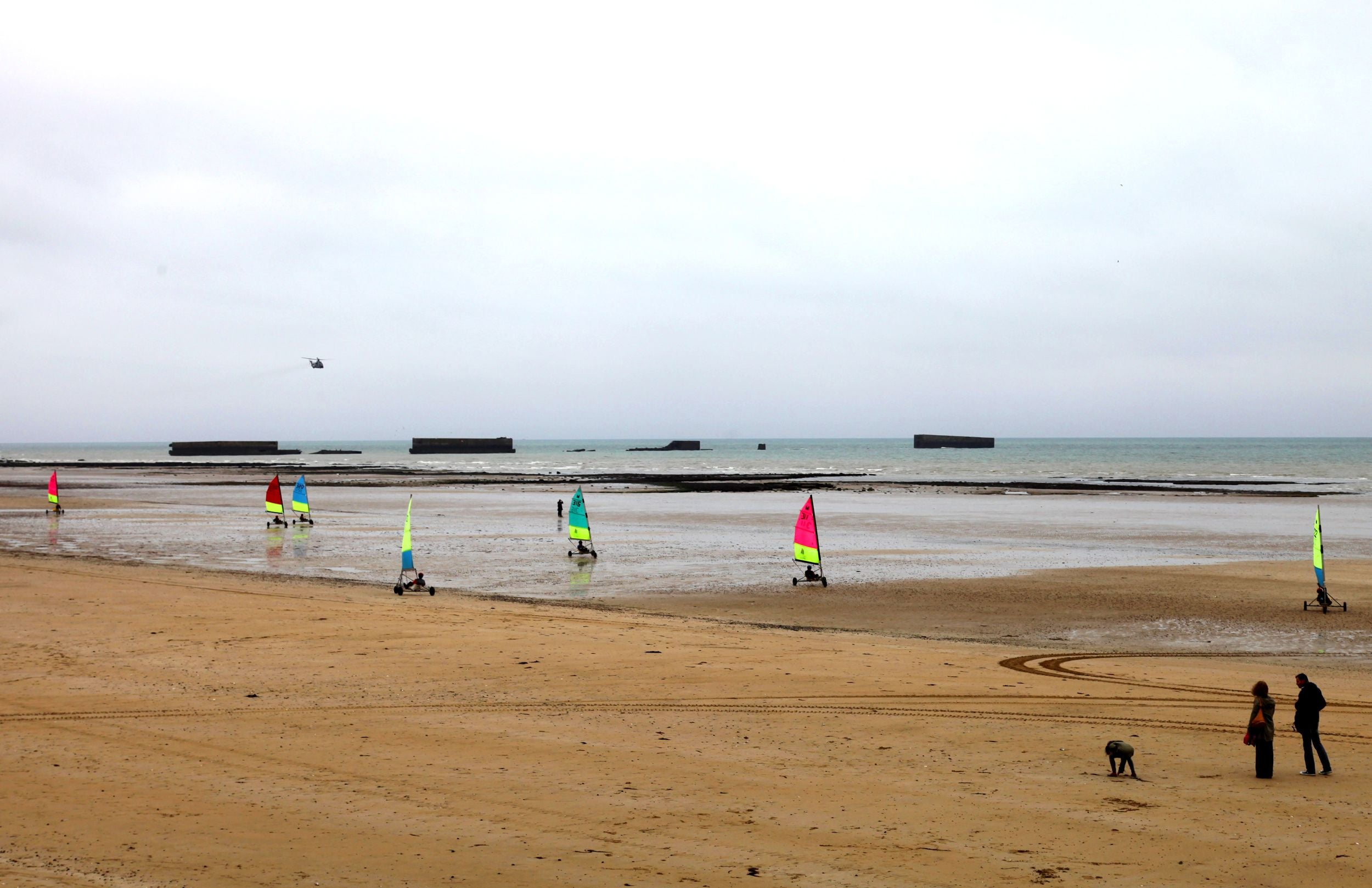 Mar en Playa de Arromanches