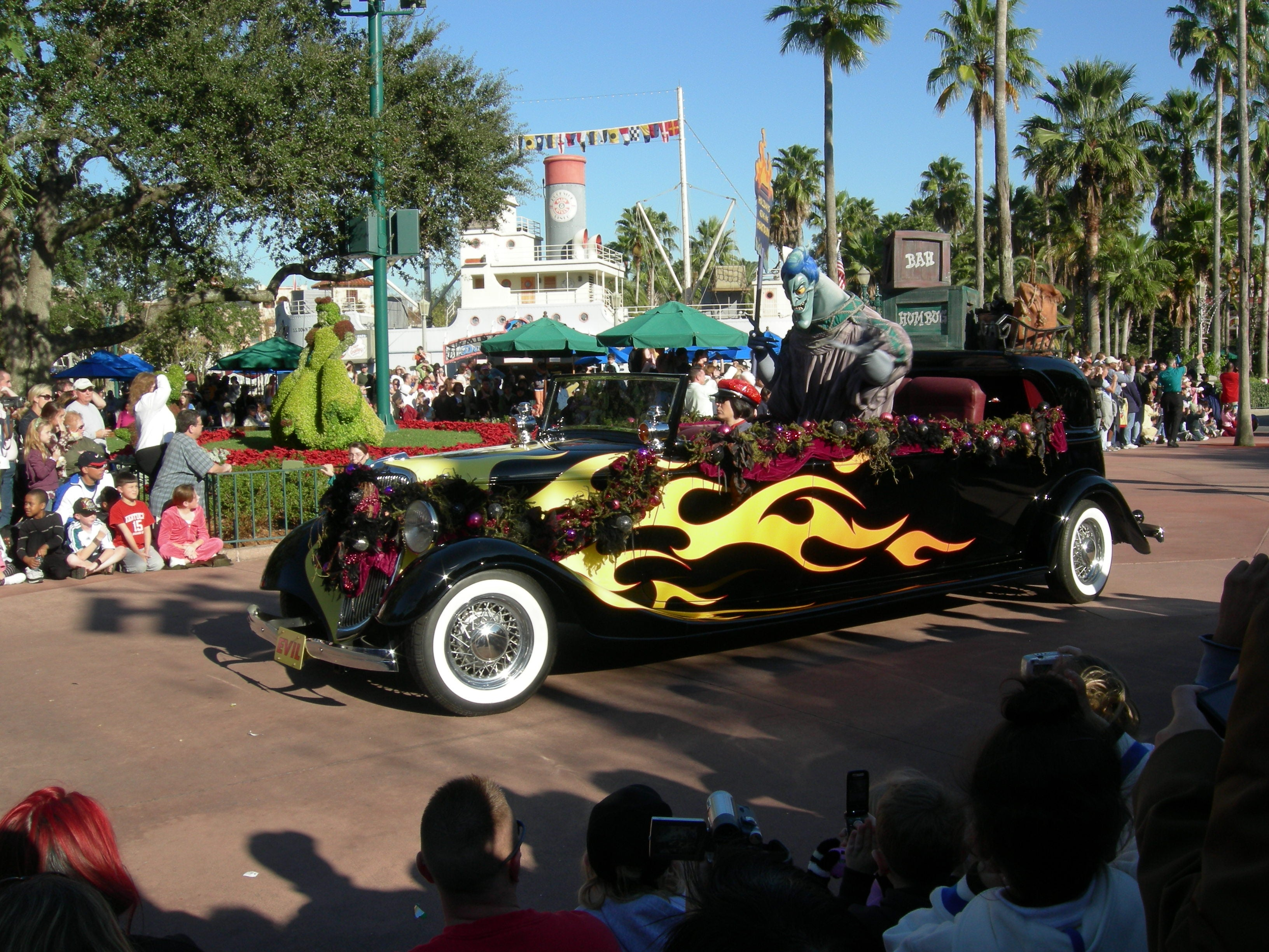 Carreras en Disney Parades (desfiles en los parques de Disney World)