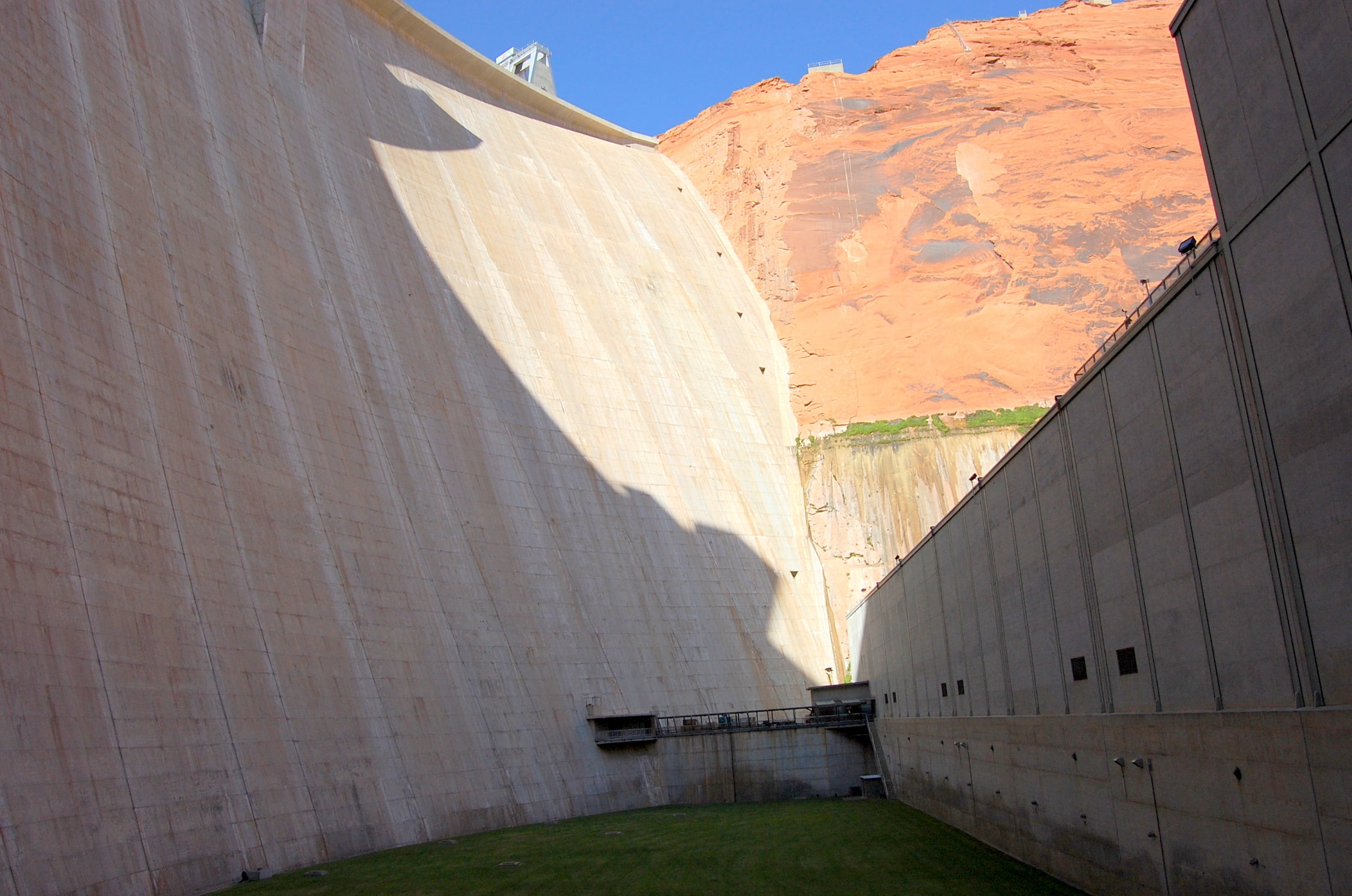 Arquitectura en Glen Canyon Bridge