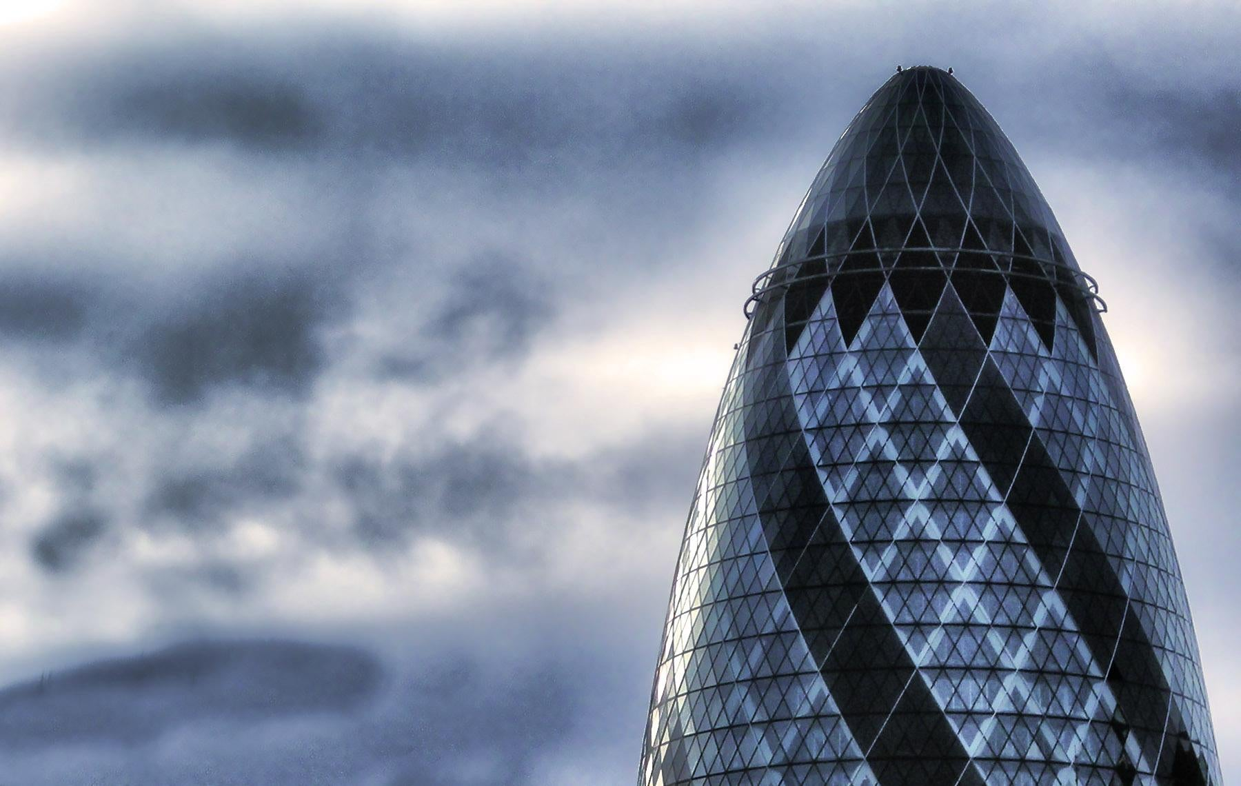 Blanco en Swiss Re Tower - Torre Gherkin