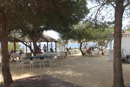 Baladrar beach bar