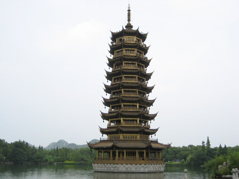 Torre en Guilin