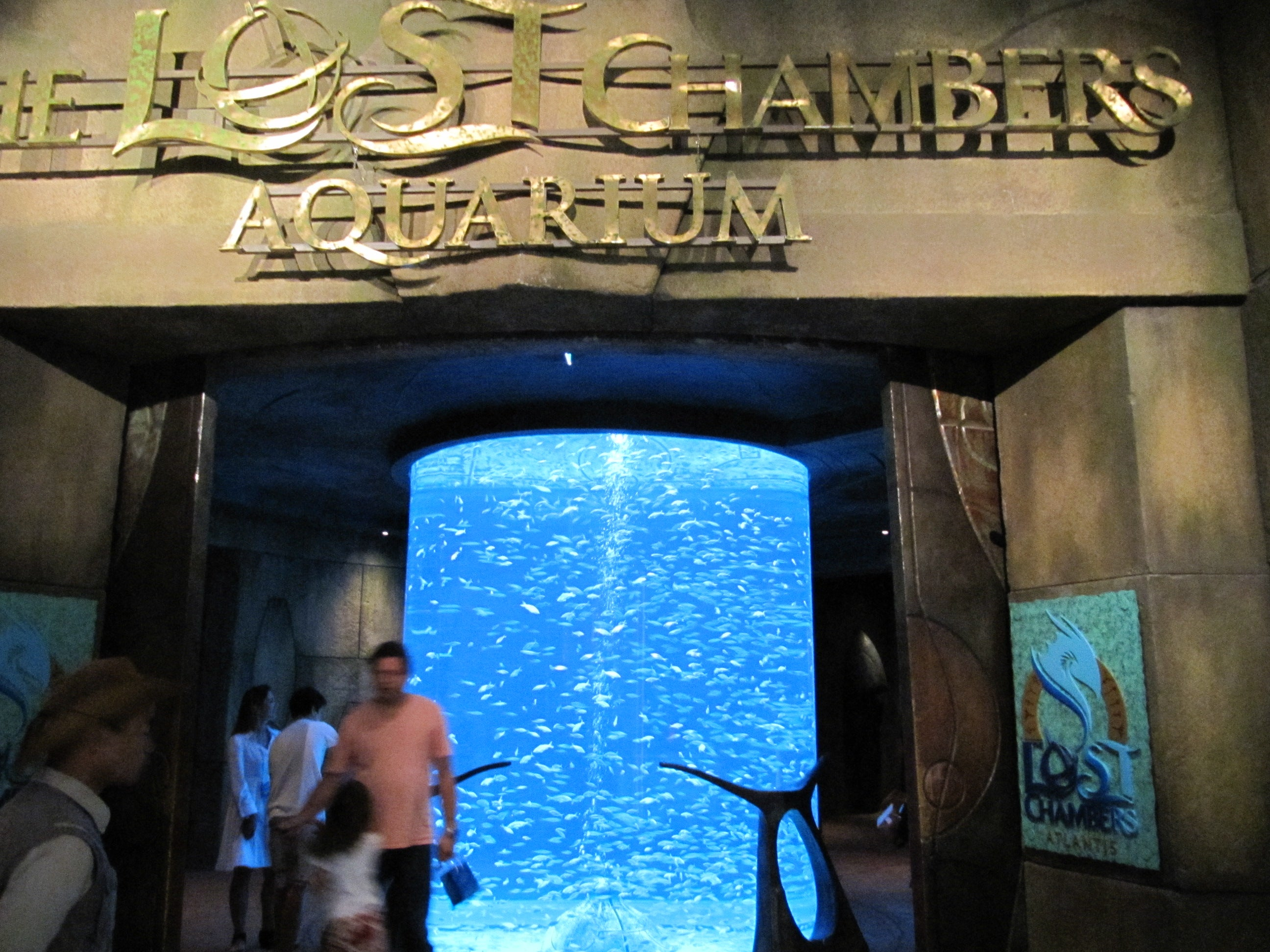 Acuario The Lost Chambers