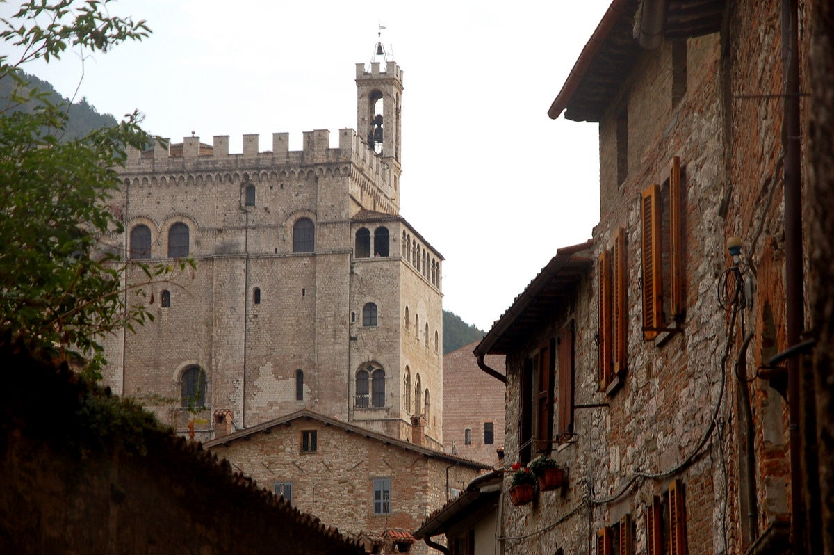 Pared en Gubbio