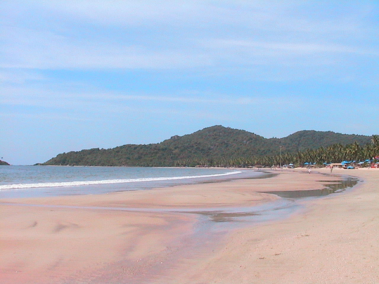 Embalse en Playa de Goa