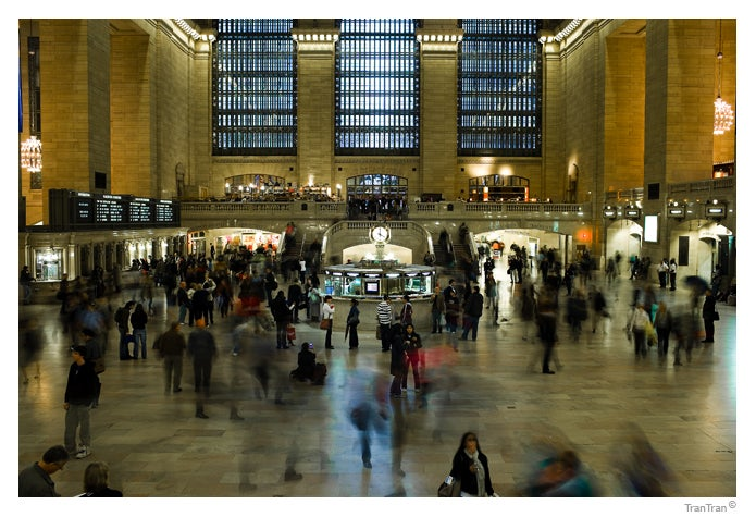 Pasajero en Grand Central Station