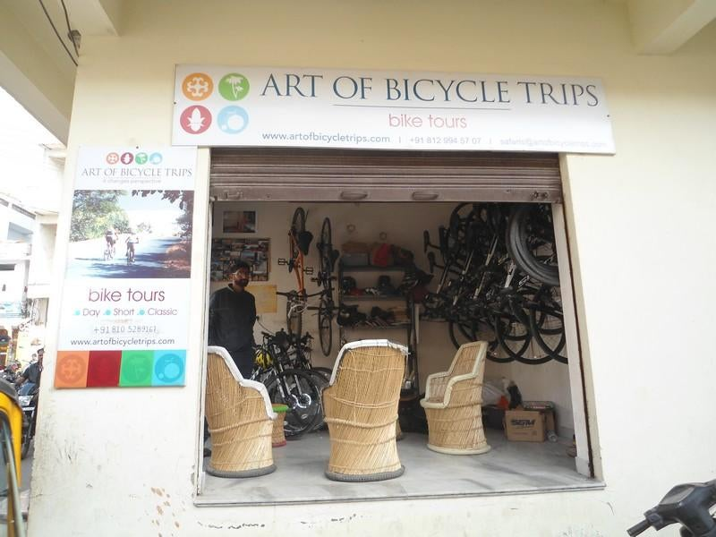 Diseño de interiores en Art of bicycle trips