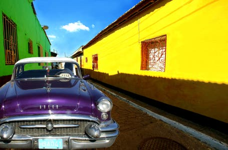The streets of Cuba