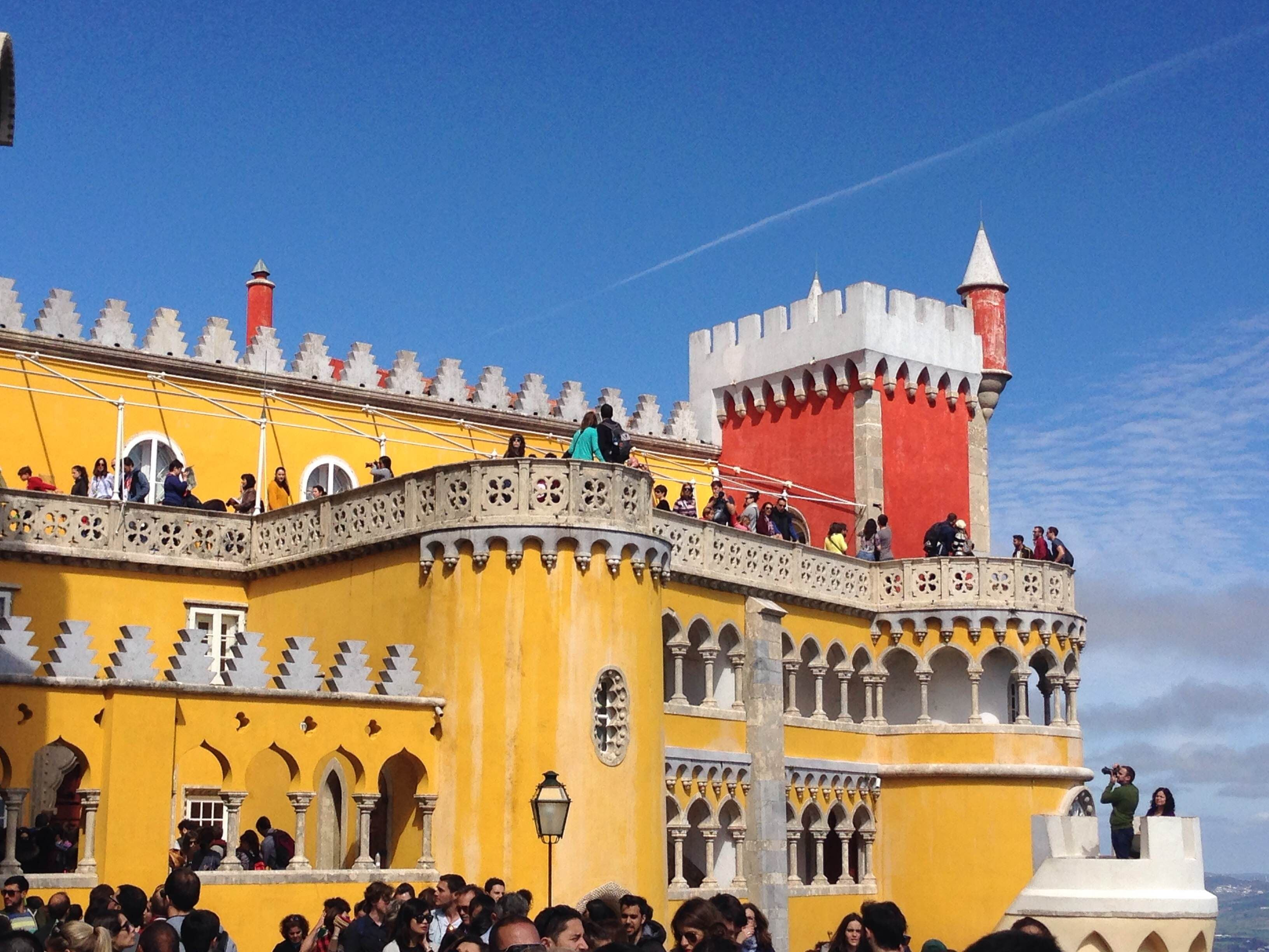 Ferry in Pena National Palace