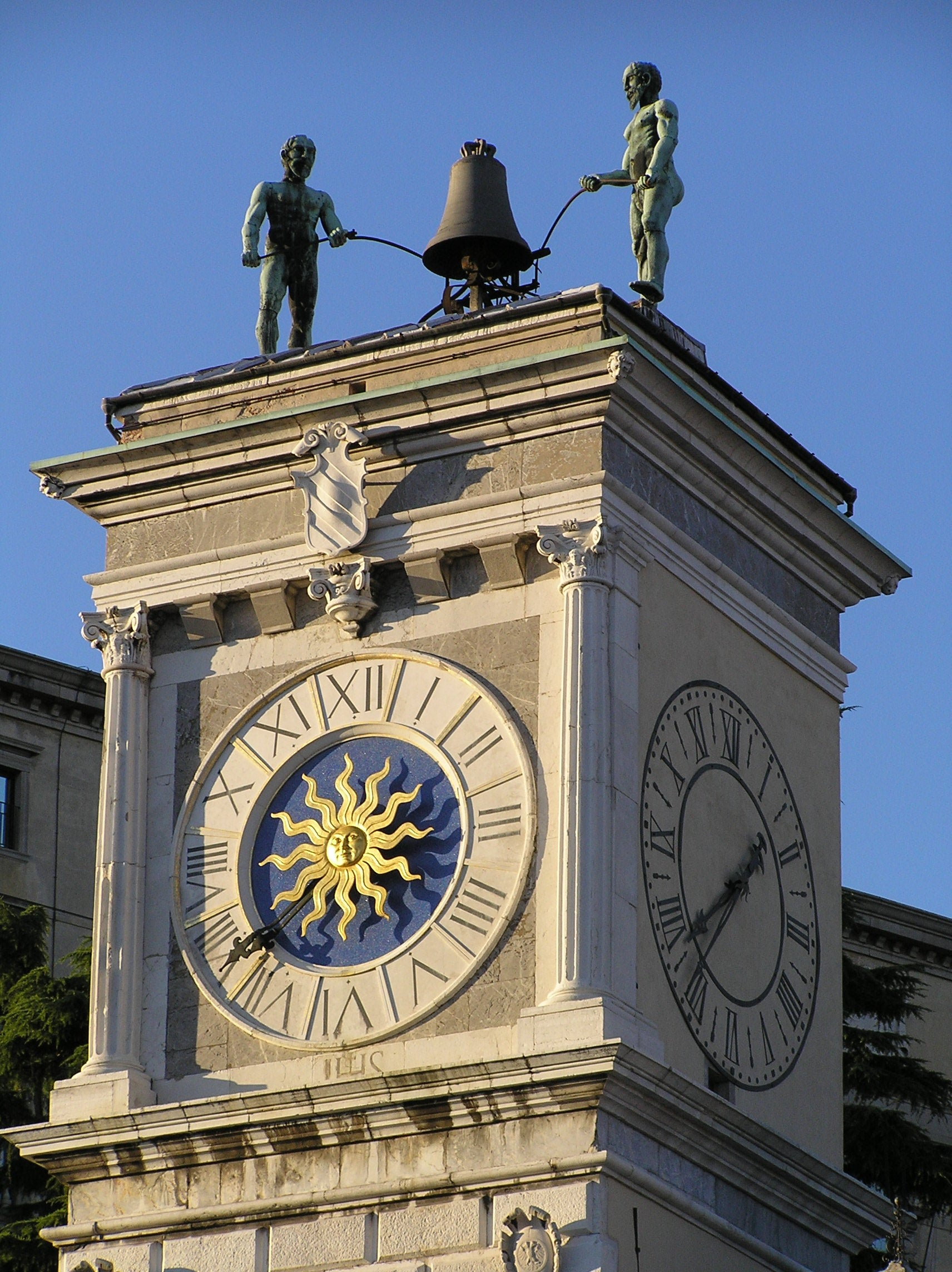 The Two Moors of the Clock Tower