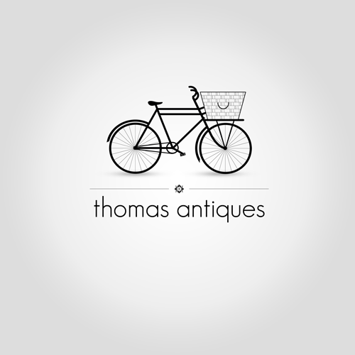 Logotipo en Thomas Antiques