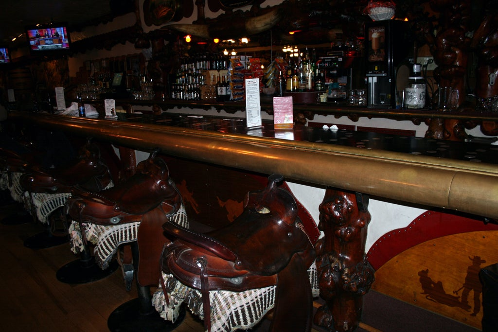 Bar en Million Dollar Cowboy bar