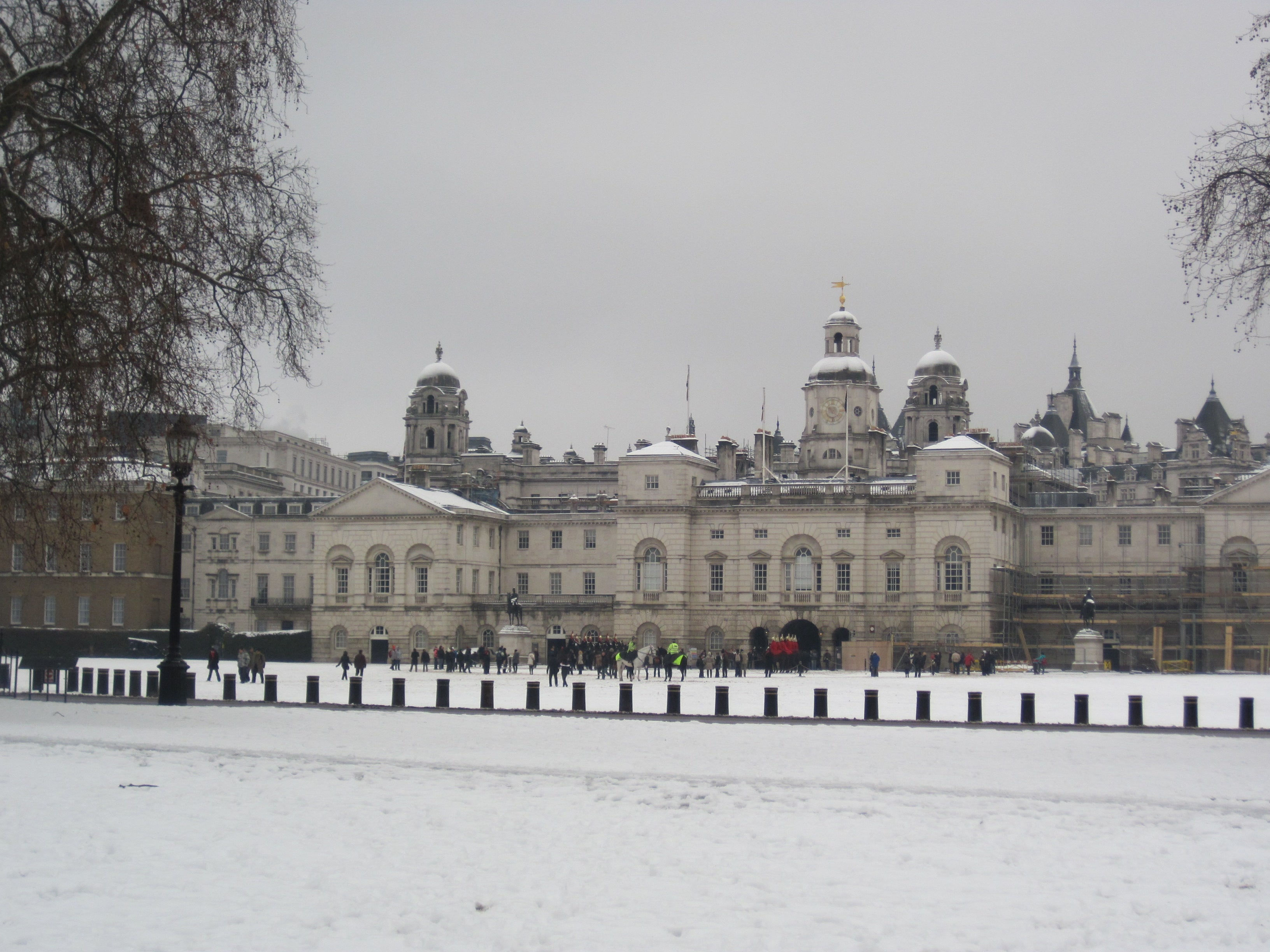 Invierno en Whitehall Palace