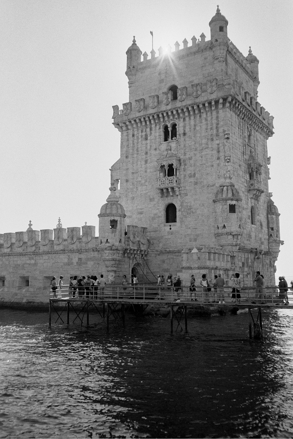 Black in Belém Tower