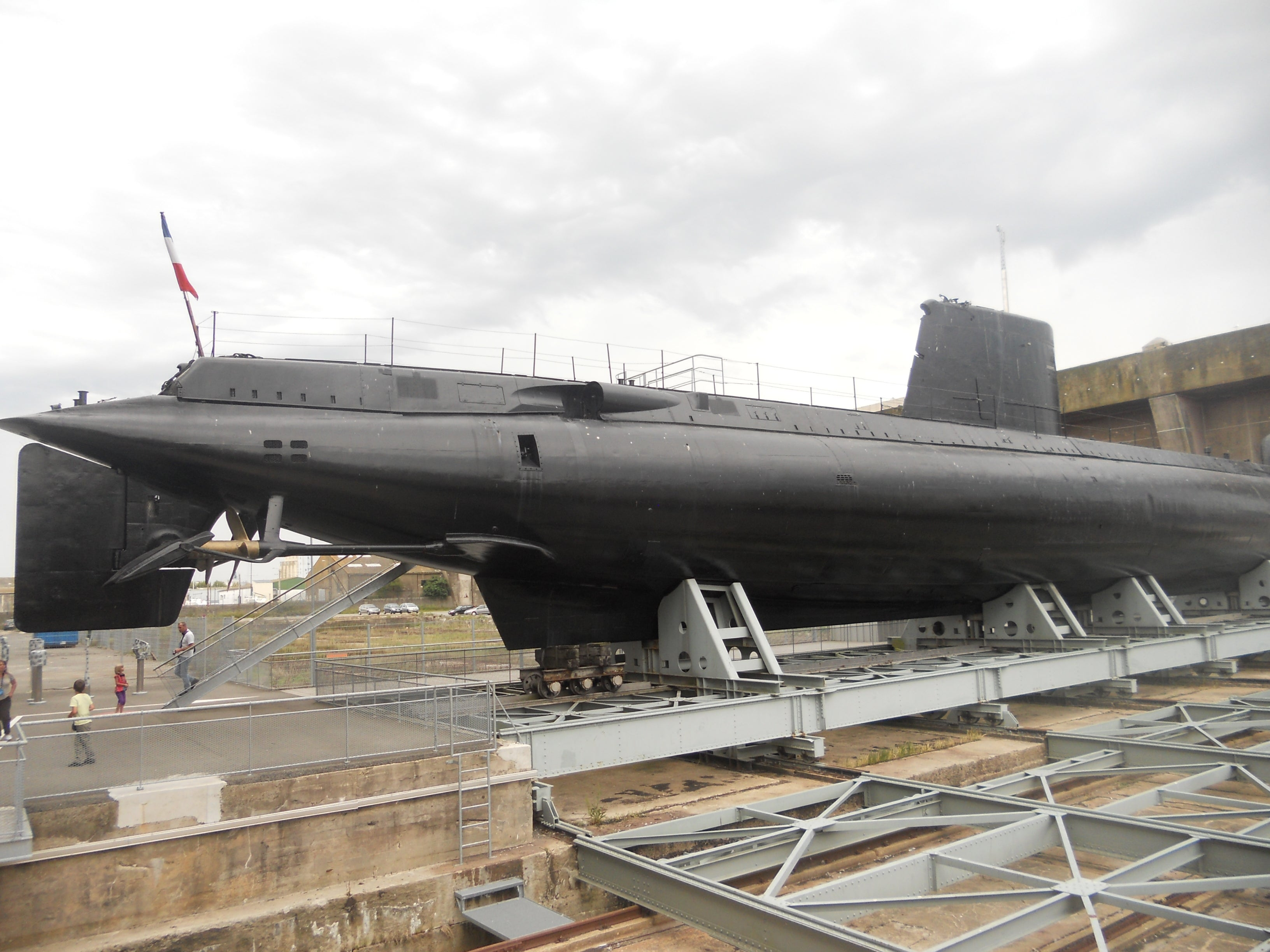 Flore Submarine base