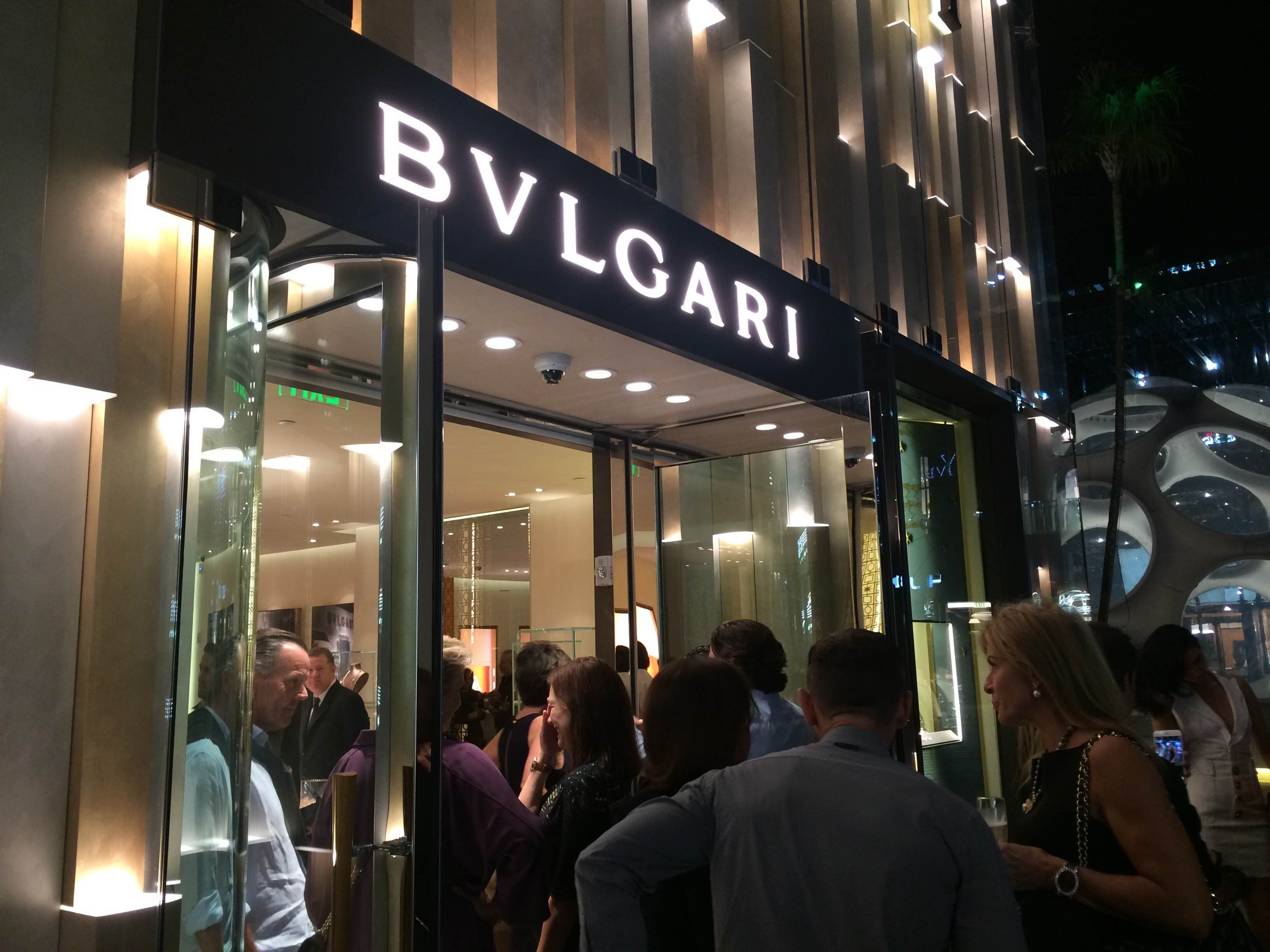 Comida en Bvlgari Miami Design District