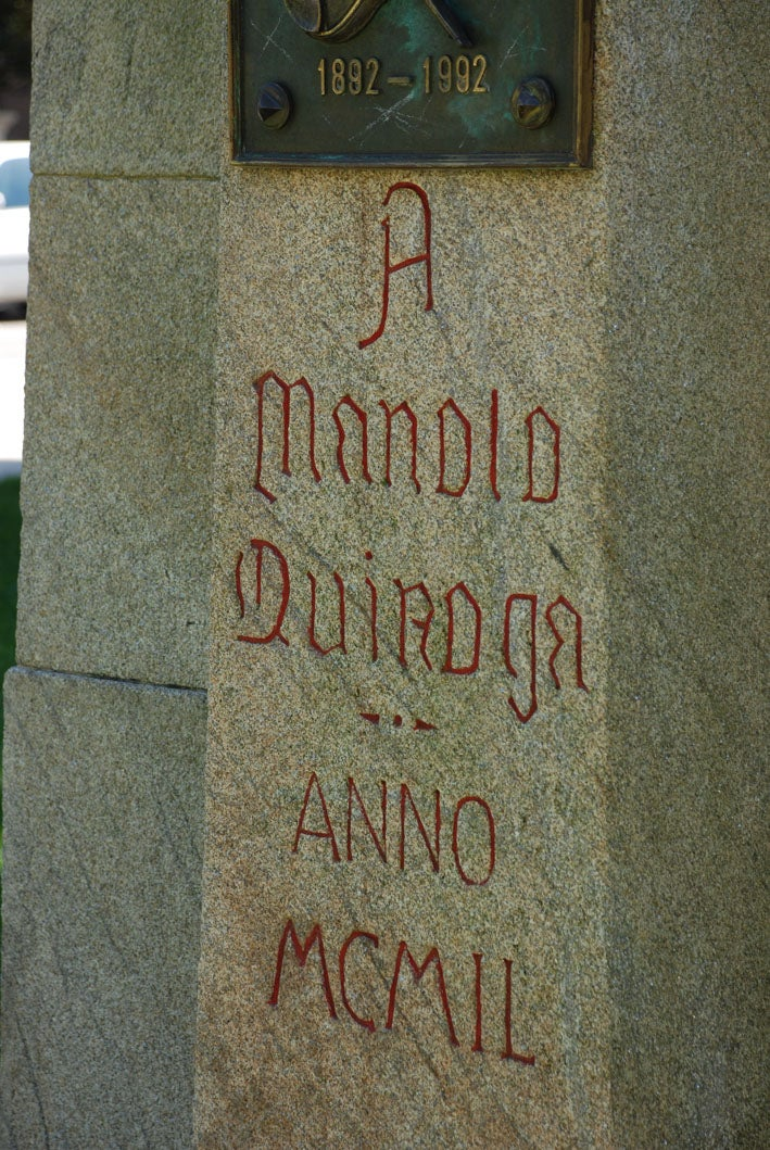 Bust of Manuel Quiroga