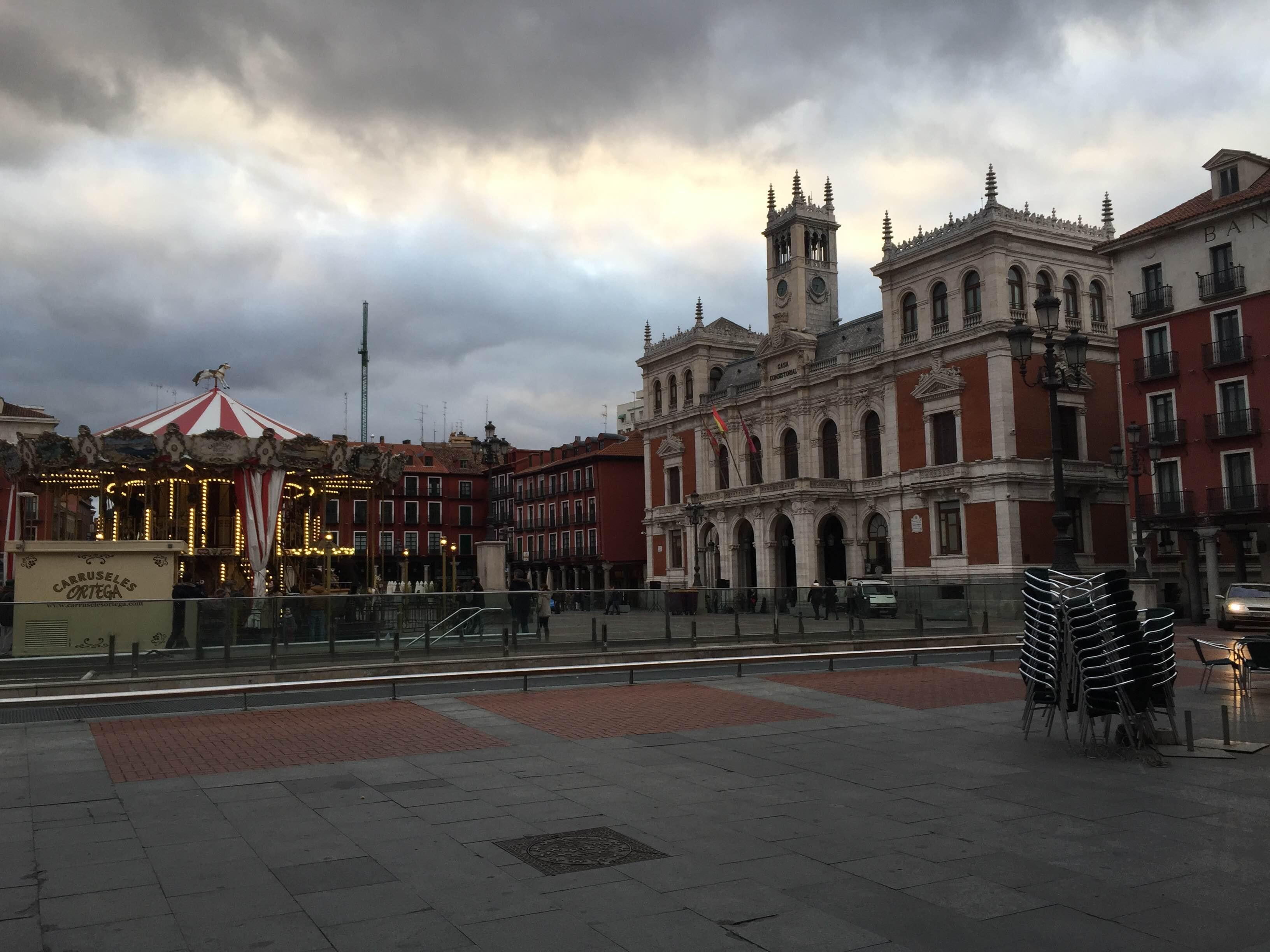 Nube en Plaza Mayor