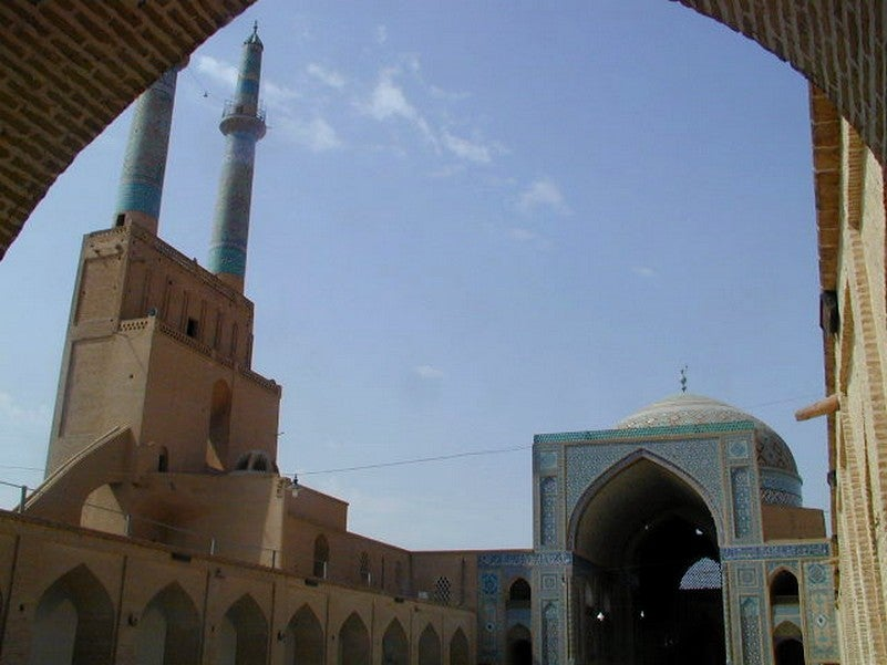Takyeh Amir Chakhmagh Medieval Palace