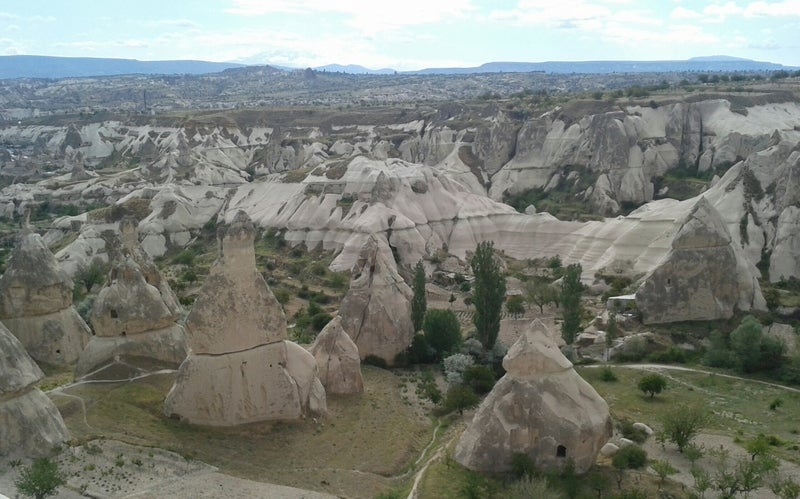 Lago en Mirador de Göreme - Sunset Point