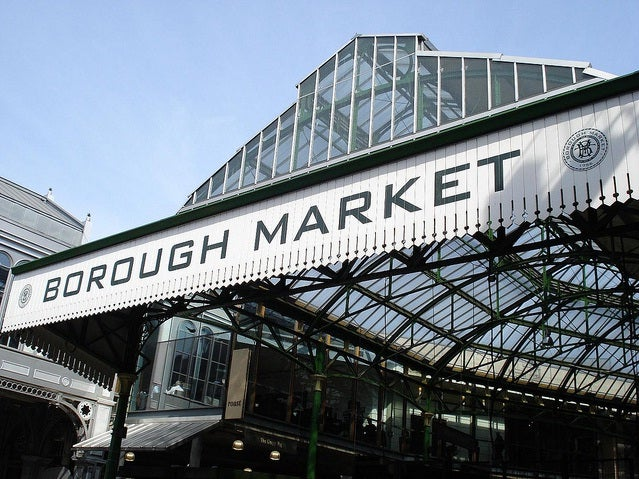 Puente elevado en Borough Market