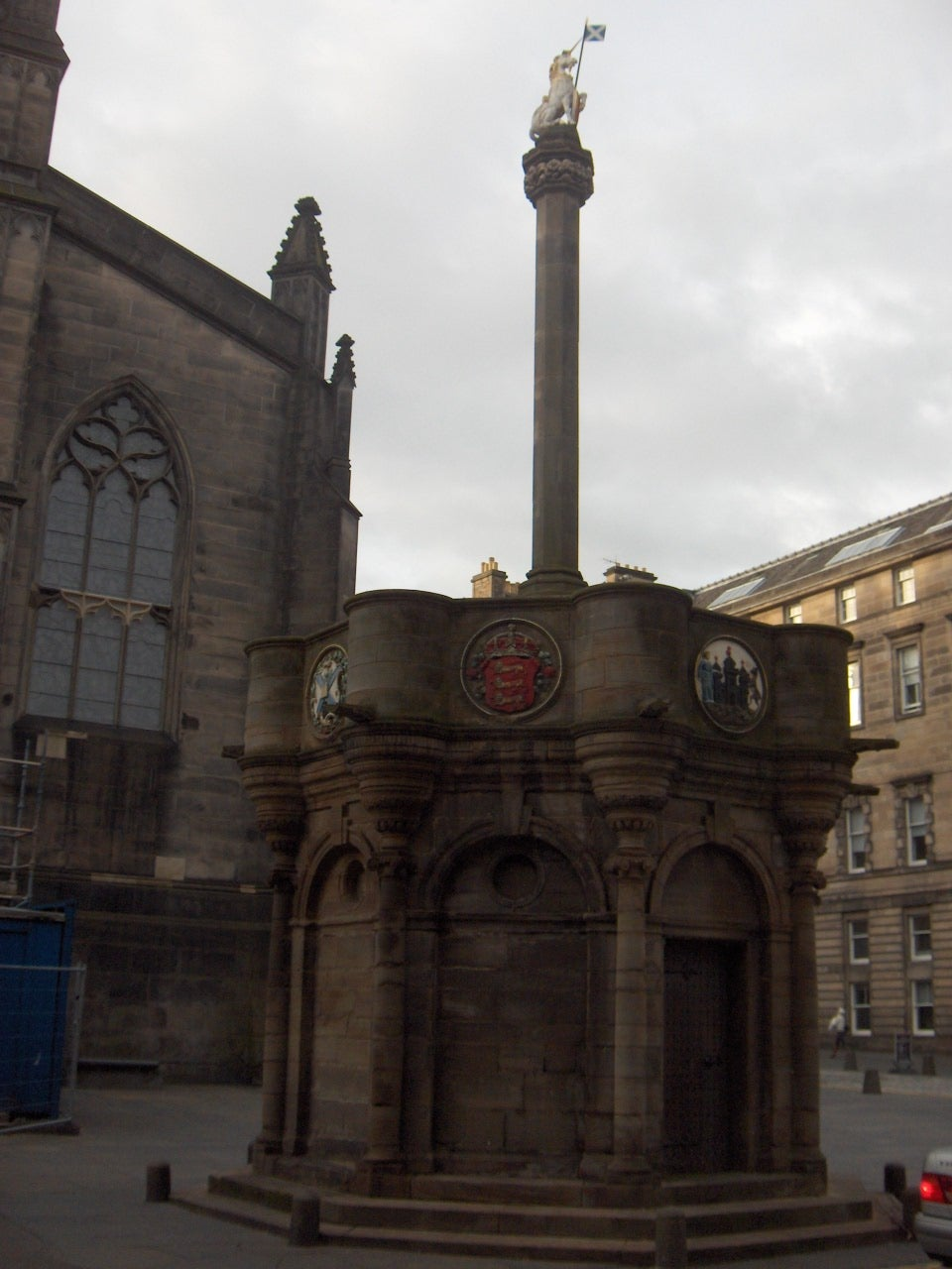 Pueblo en Royal Mile