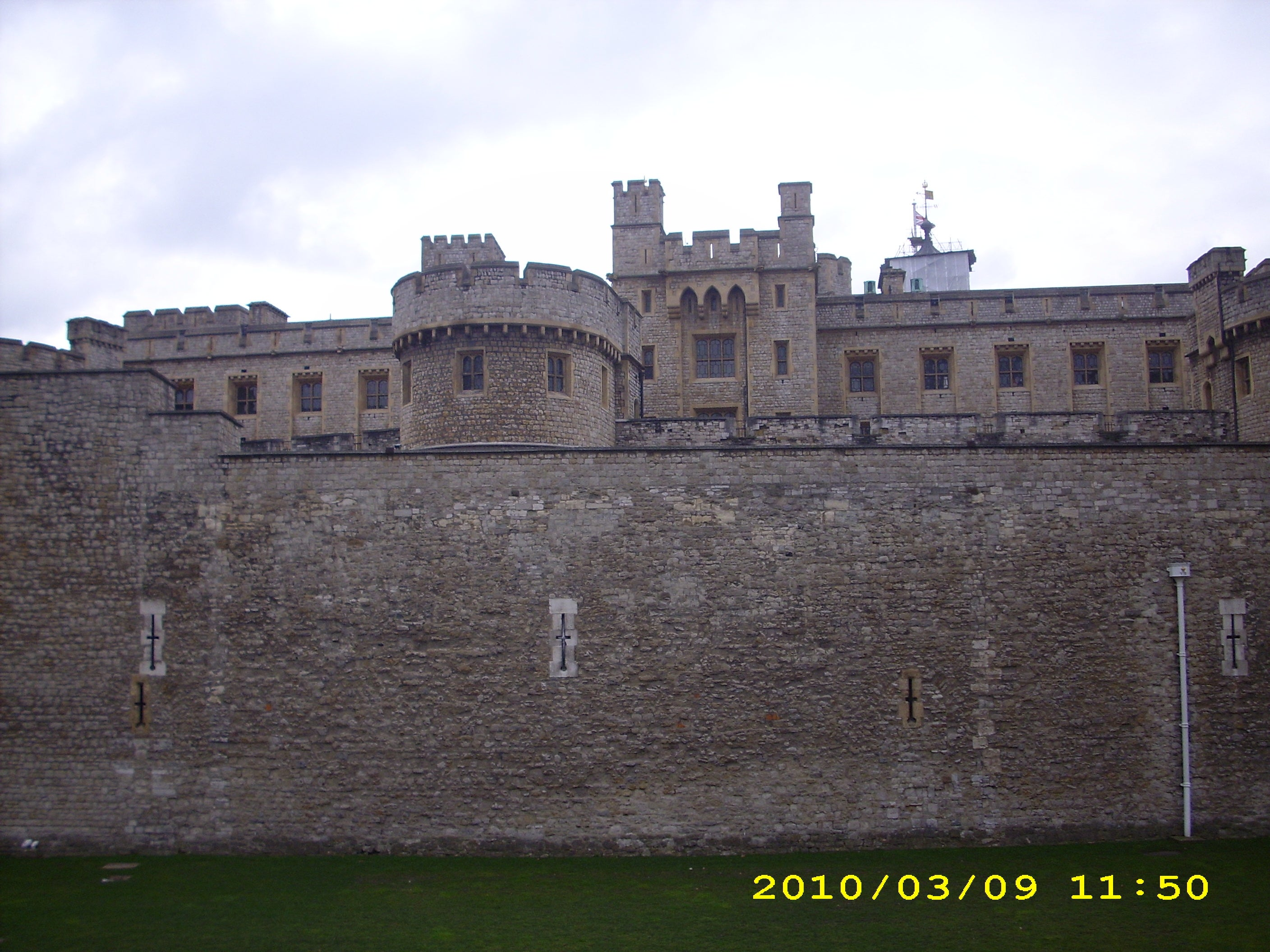 Foso en Castillo de Windsor