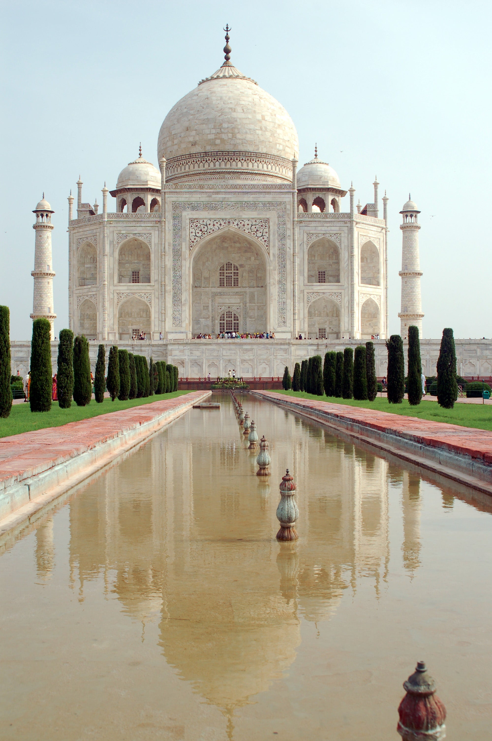 Reflejo en Taj Mahal